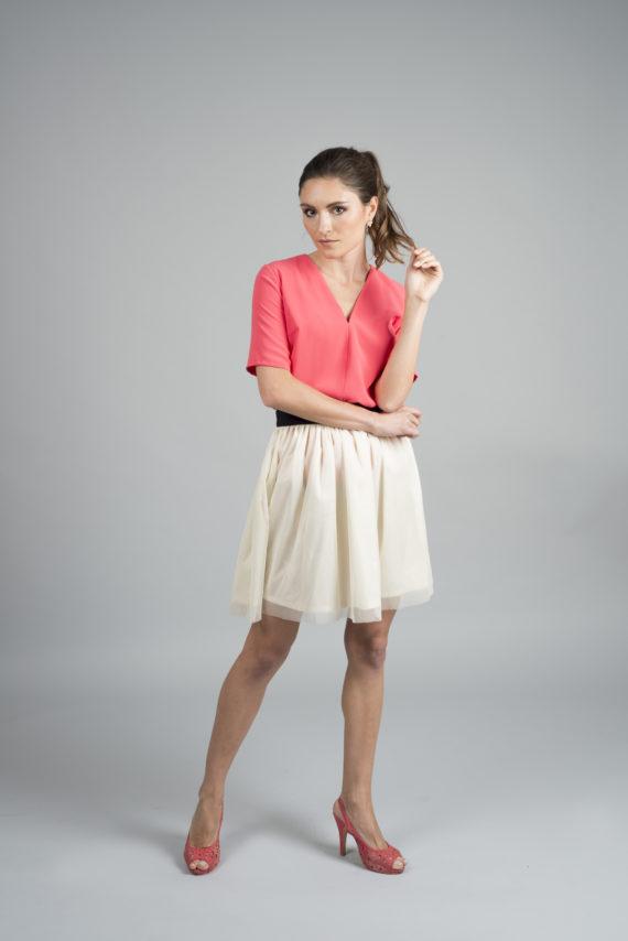 blusa elegante para señora