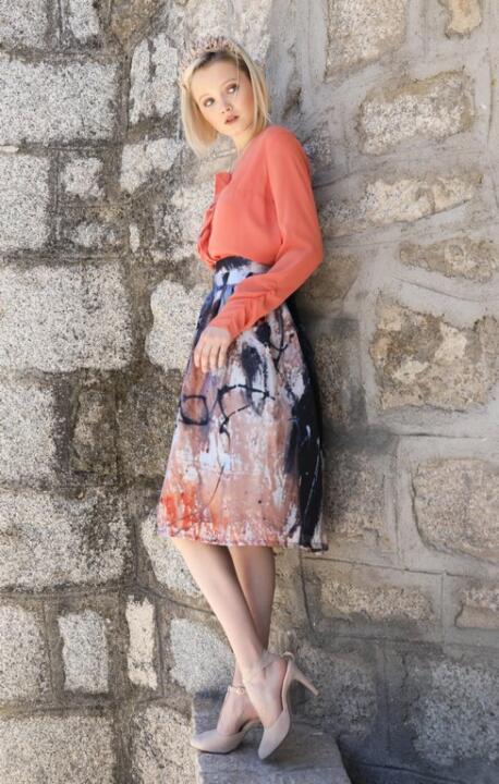 falda de invitada