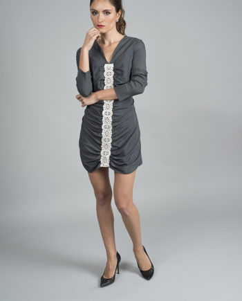 robe courte de fête