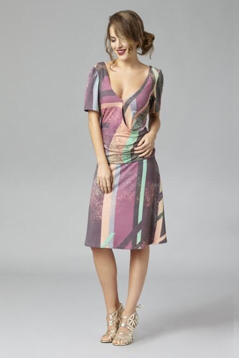 robe Daniela courte styliste belge