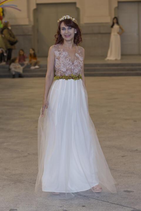 vestido de novia rosa madrid