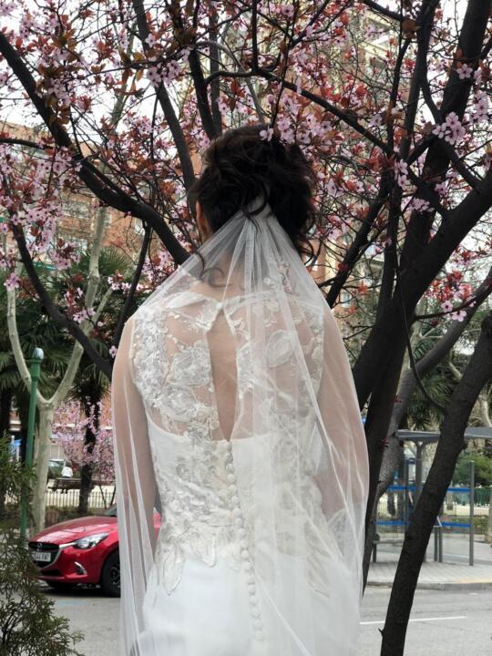 vestidos de novias elegantes madrid
