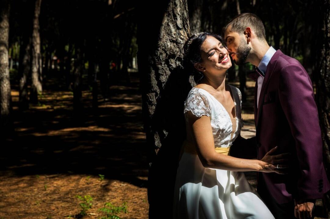 vestidos de novia con encaje maribel