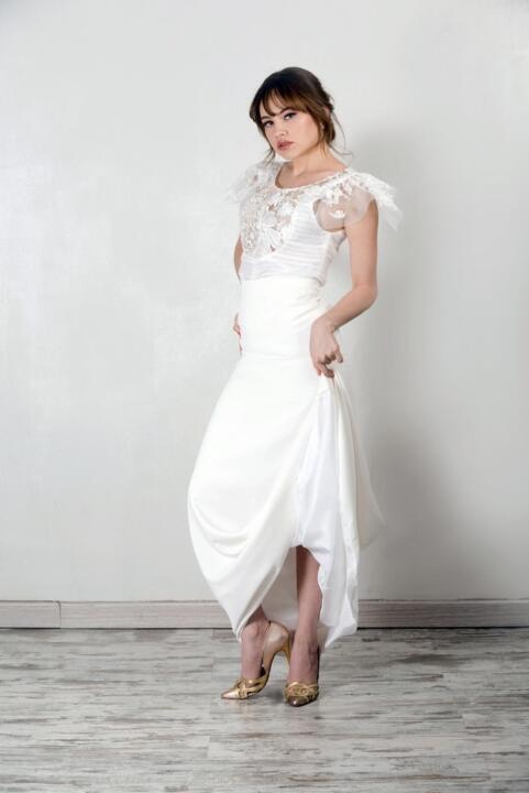 vestidos de novia encaje