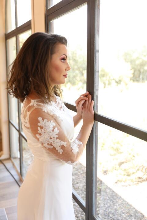vestido de novia para novia mayor