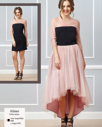 Vestido de noche Alisier