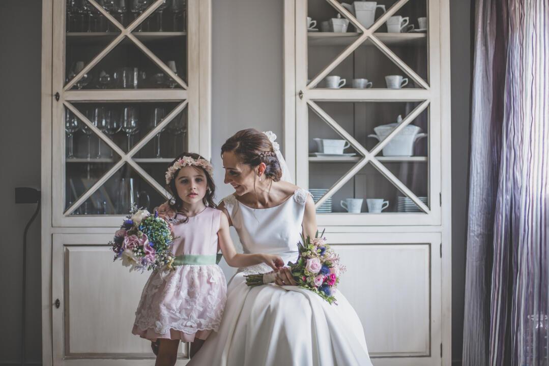 vestido de ceremonia para niñas