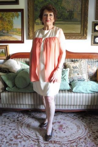 vestido fiesta para senora de más de 50 años