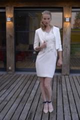 vestido de novia corto a medida