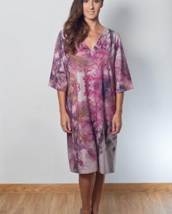 vestido inspirado en un cuadro