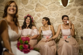 vestidos de damas de honor a medida Madrid