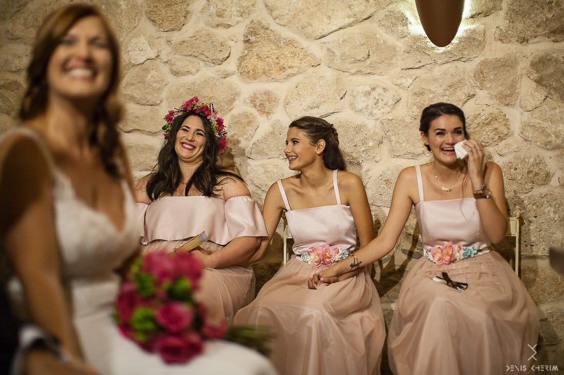 vestidos de damas de honor a medida Madrid