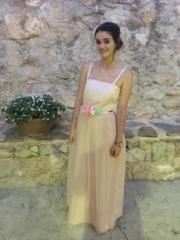 vestidos de damas de honor rosa, madrid