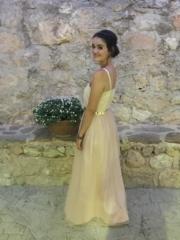 vestido de dama de honor a medida Madrid