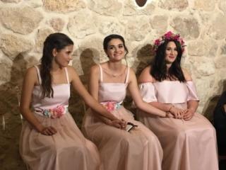vestidos de damas de honor a medida en Madrid