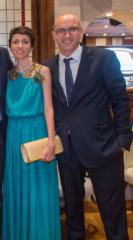 vestido largo verde invitada Madrid