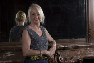 vestido azul para señora mayor de 50 años