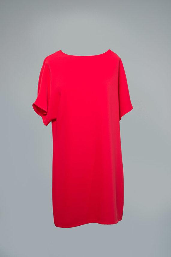 vestido de fiesta rojo Adenia