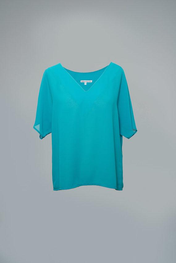 blusa de fiesta amplia