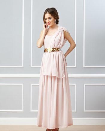 vestidos de fiesta largo rosa