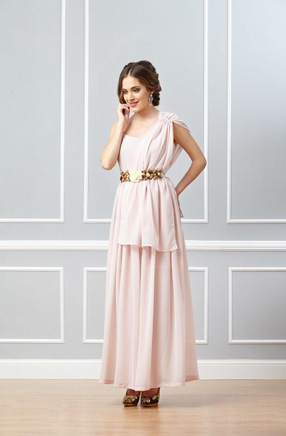 vestido de fiesta rosa palo,vestidos para bodas